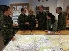Skupinové cvičení Kurzu nižších důstojníků