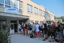Budoucí studenti Univerzity obrany zahájili základní přípravu veVyškově