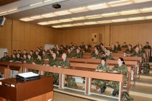 Zahájení Základního důstojnického kurzu