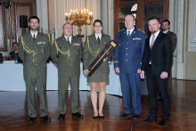 Nejlepší absolventkou Kurzu pro nižší důstojníky se stala poprvé žena