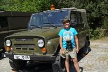Návštěva dětského domova Plumlov v kasárnách Dědice a přilehlém vojenském výcvikovém prostoru