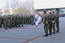 Základní výcvik nováčků umocnila slavnostní vojenská přísaha