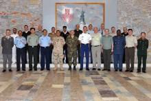 Vyškovskou akademii navštívili vojenští a letečtí přidělenci dvaceti států