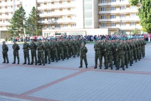 Příslušníci kurzu základní přípravy odpřísahali věrnost naší republice