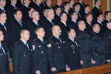 Ve Vyškově se připravovali opět i noví policisté