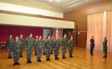 Ukončení a slavnostní vyřazení absolventů zdokonalovacího kurzu základní přípravy