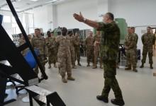 Američany ve Vyškově zaujaly trenažéry bojových vozidel