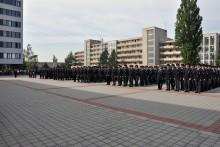 Slavnostní vyřazení absolventů nástupního kurzu Policie ČR