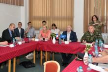 Bezpečnostní rada Jihomoravského kraje jednala v posádce Vyškov