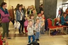 Návštěva Dětského domova Plumlov na MDD v kasárnách Dědice