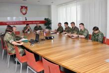 Vyškovskou akademii navštívili zástupci německých ozbrojených sil s velitelem Pozemních sil AČR