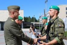 Generál Bečvář se ve Vyškově setkal se záložníky
