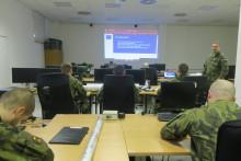 Výcvik 13.dělostřeleckého pluku opět po roce uOSTT Vyškov