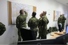 Výcvik 13.dělostřeleckého pluku u OSTT Vyškov