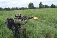 Jako vopravdové válce, chválí nový soubojový simulátor vojáci zHranic