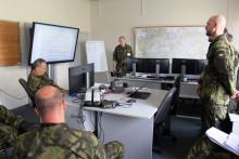 Velitelská příprava Krajského vojenského velitelství hl.města Praha nacvičení Hradba 2021