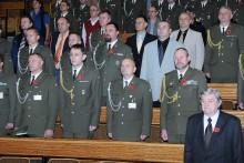 Oslavy Dne válečných veteránů v posádce Vyškov