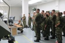 Ukázka odboru simulačních a trenažérových technologií Vyškov pro studenty Univerzity obrany
