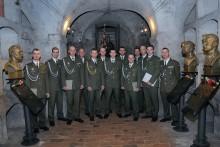Slavnostní vyřazení absolventů kurzu Komando