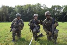 Členové Britského výcvikového aporadního týmu (BMATT) vedli výcvik velitelů nanejnižších stupních vHranicích