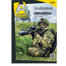 Vyšlo srpnové číslo časopisu Areport. Přináší ireportáž onovém soubojovém simulátoru