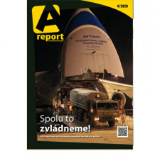 Vyšlo dubnové číslo časopisu A report