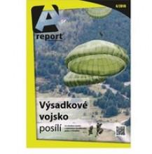 Nové číslo časopisu A report přináší icertifikaci 12.strážní roty do Afghanistánu řízenou příslušníky VeV-VA