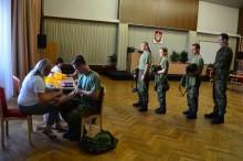 Příslušníci aktivní zálohy a dobrovolného vojenského cvičení se stali členy registru dárců kostní dřeně