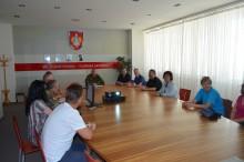 Vedení města Vyškova zavítalo opět k Velitelství výcviku – Vojenské akademii