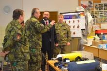 Vojenskou akademii navštívil předseda Podvýboru Poslanecké sněmovny pro Hasičský záchranný sbor České republiky