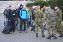 Zahájení kurzu základní přípravy – aktivní záloha adobrovolné vojenské cvičení