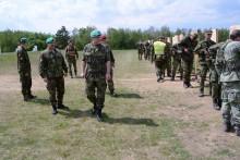 Generálporučík Jiří Baloun navštívil Velitelství výcviku - Vojenskou akademii