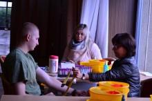 Budoucí studenti Univerzity obrany se stali členy registru dárců kostní dřeně