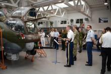 Akademii navštívila Asociace vojenských a leteckých přidělenců akreditovaných v České republice