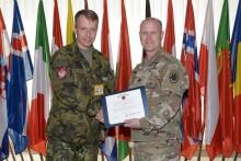 Vojenský attaché USA vČeské republice navštívil vyškovskou akademii