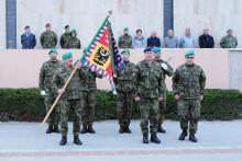 Prapor zabezpečení Vyškov od dubna snovým velitelem