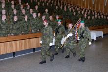 Vyškovští připravili dalších 531nových vojenských profesionálů. Ti nyní míří kútvarům azařízením AČR