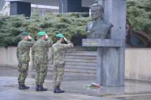 Výročí narození Ludvíka Svobody si připomenuli vyškovští v posádce i Hroznatíně