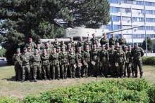 Specialisté aktivní zálohy absolvovali základní přípravu a složili vojenskou přísahu