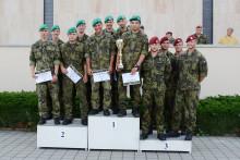 Startovní číslo1 znamenalo vítězství: Putovní pohár pro přeborníka rezortu MO hlídek vojenské všestrannosti 2019 získalo družstvo Univerzity obrany BrnoA