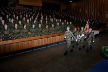 Armádu posílí bezmála 500nově vycvičených vojenských profesionálů