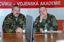 Vyškovští se prezentovali armádnímu generálovi Aleši Opatovi. Aměli se čím pochlubit