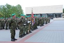 Den ozbrojených sil ČR jsme si připomenuli slavnostním nástupem