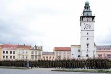 """Na Masarykově náměstí ve Vyškově zaznělo: """"Tak přísaháme"""""""