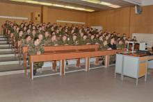 Studium zahájili iposluchači Základního důstojnického kurzu