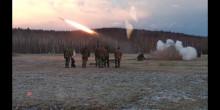 """Nácvik ve střelbě ařízení palby """"OP Sudden Strike 03-18"""""""