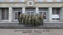 Nácvik vedení provozu spojovací roty 7.mb Hranice uCSTT Brno