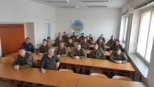Spojovací nácvik příslušníků 4. brigády rychlého nasazení Žatec uCSTT Brno