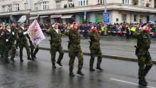 Vrcholem oslav 100.výročí vzniku samostatného československého státu byla slavnostní vojenská přehlídka na Evropské třídě. Zúčastnila se istovka příslušníků VeV-VA