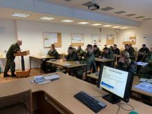 Noví posluchači kurzu pro nižší důstojníky opět ve Vyškově